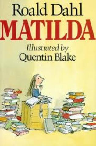 Matilda is published