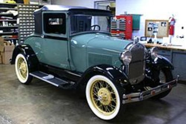 Ford introduces model A