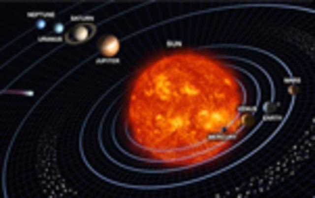 Το ηλιακό σύστημα!