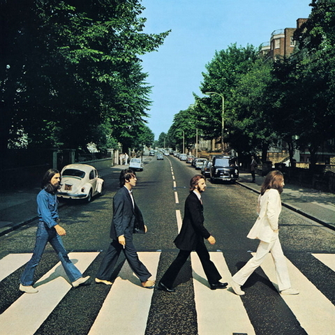 Abbey road album by Beatles