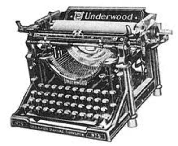 En Estados Unidos se introdujieron dos tipos de diseños difernetes de las máquinas de escribir