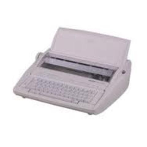 Las máquinas de escribir eran pequeñas y pórtatiles