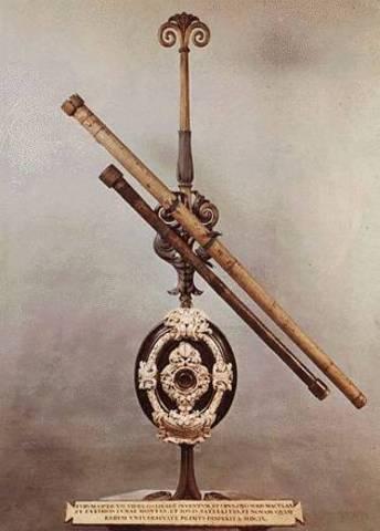 το πρώτο τηλεσκόπιο