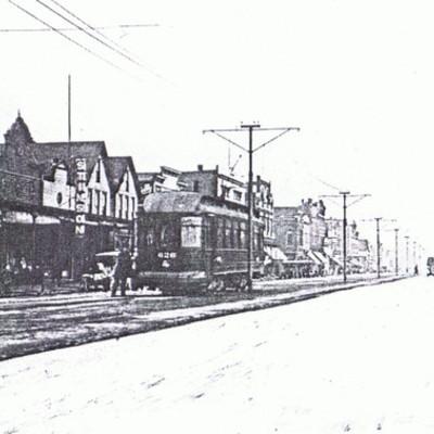 Historic West Franklin Street Evansville, IN timeline