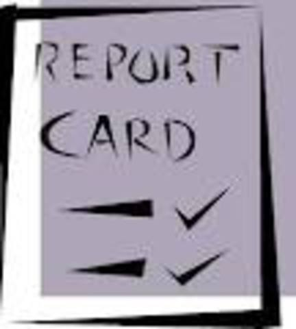 first report card