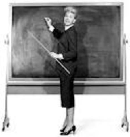Dorothy Fuldheim Started Teaching