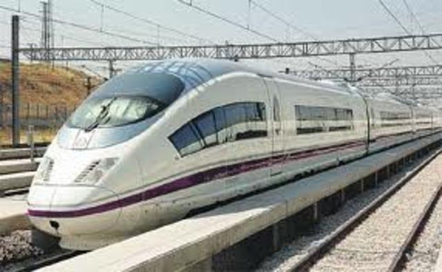 Se inaugura el tren ed alta velocidad