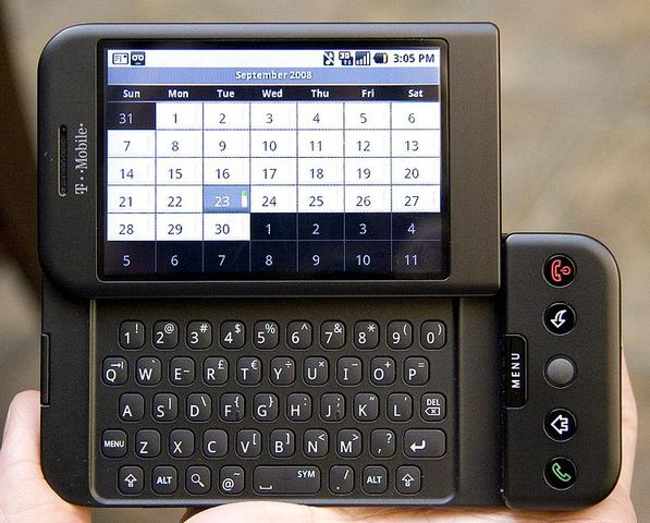 $179, HTC Dream(G1)