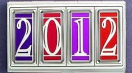 2012 Holiday Calendar timeline