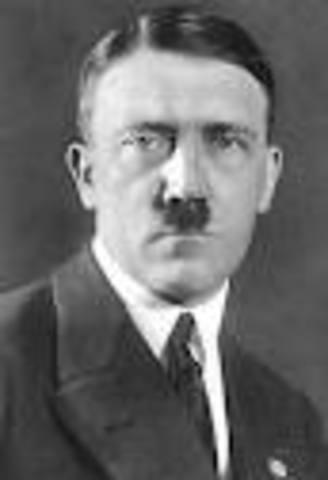 Interviewed Adolf Hitler