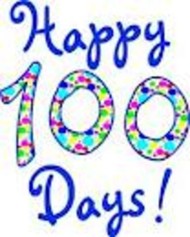 100 days of school and sisters birthay