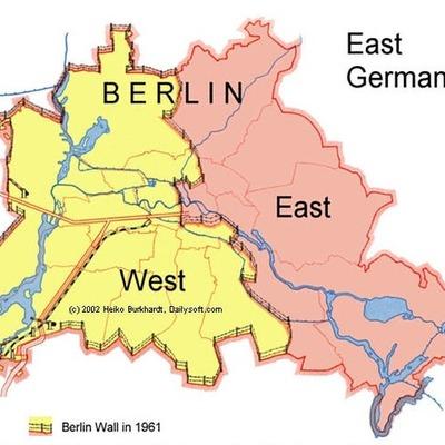 History of Berlin Wall timeline
