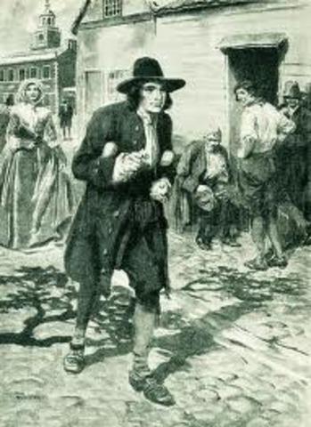 Benjamin's first day in Philadelphia