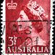 Stock photo australia circa s a stamp printed in australia shows queen elizabeth ii circa s 63845605