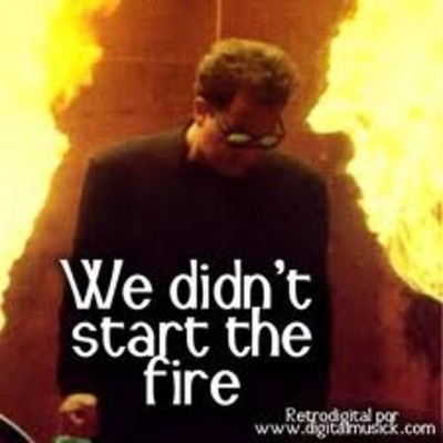 Music Video ' We Didnt Start the Fire ' by billy joel timeline