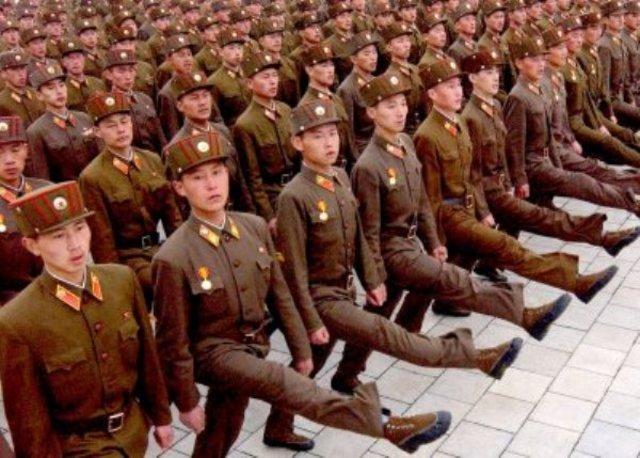 North and South Korea declare war