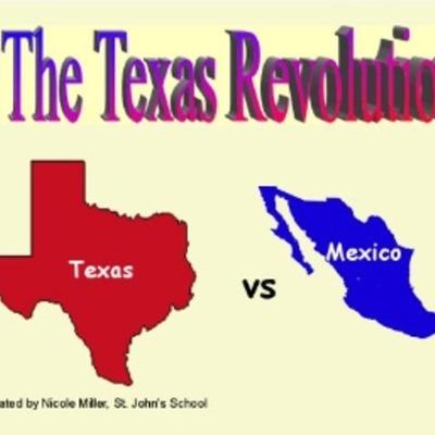 The texas revolution timeline