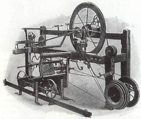 Samuel Crompton- spinning mule