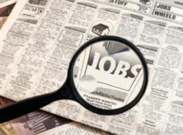 Finding a Job.