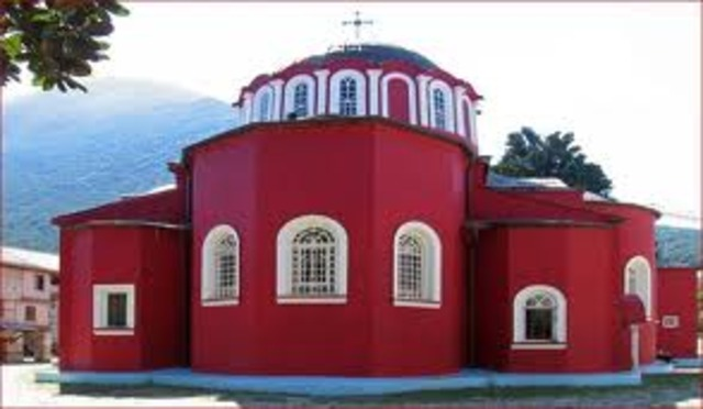 Ιερά Μονή Μεγίστης Λαύρας - Αγιον  Όρος