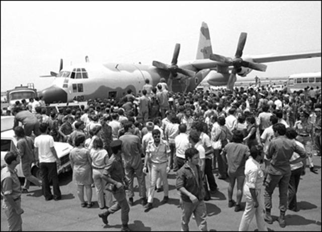 Plane hijacking of Entebbe