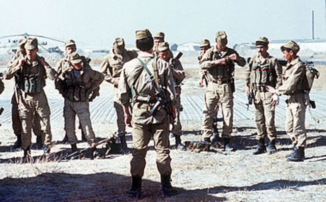 Russians declare war on Afghanistan