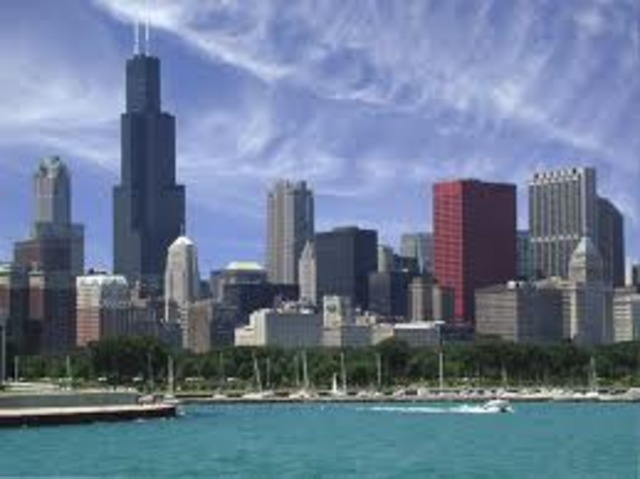 Moved to Chicago