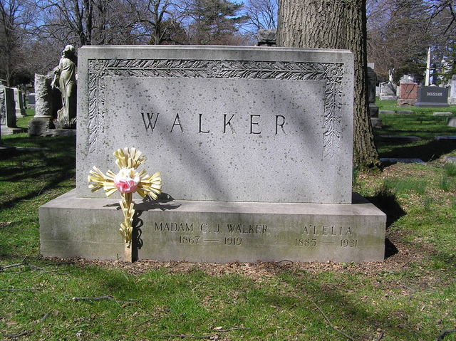 Madam C.J. Walker dies