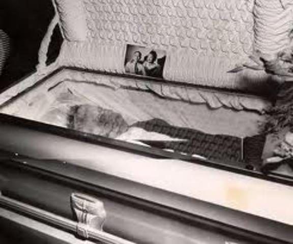 Emmett Till's funeral.