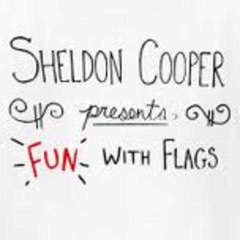 Sheldon Cooper's Fun with Flags!