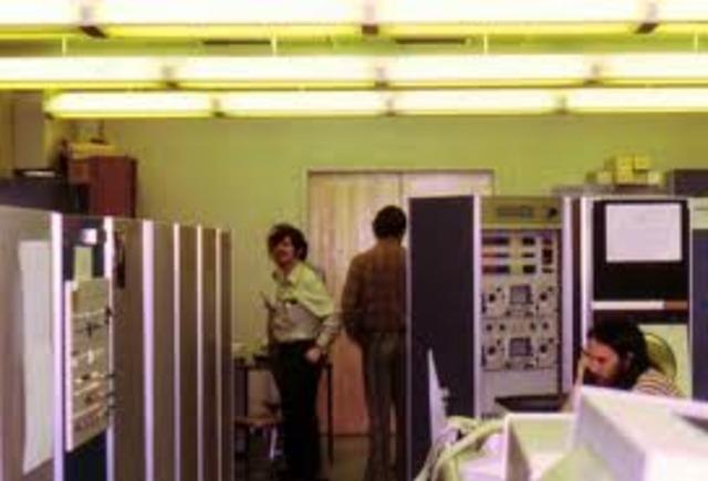 First ARPANET node installed at UCLA Network Measurement Center