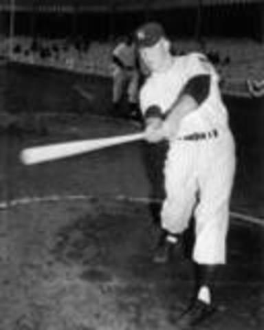 Mickey Didn't get a hit at his first 24 at bats