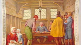 The Mayflower Compact timeline
