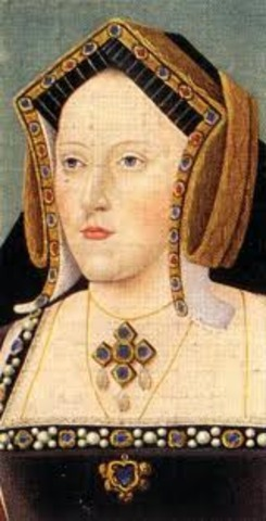 Catherine of Aragon died