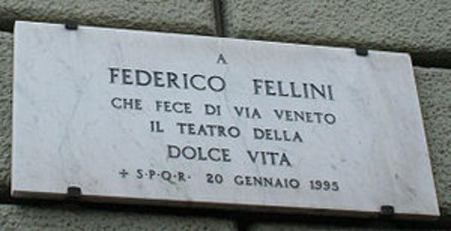 Fellini e` morto