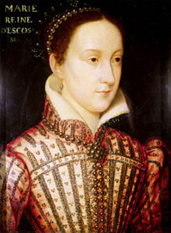 Conspiracy against Elizabeth I involving Mary Queen of Scots