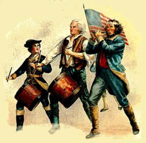 American Revolution began