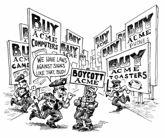 Boston calls for a boycott of British imports