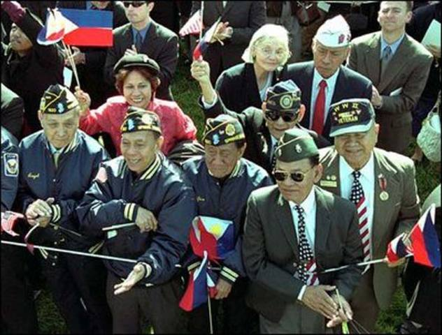 Filipino War Veterans Compensated