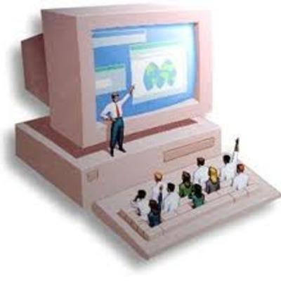 Historia de las TIC y del E-learning. timeline
