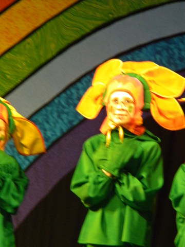 Evil Magic Flower in the Wizard of Oz