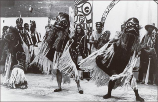 Aboriginal Potlatches Illegal