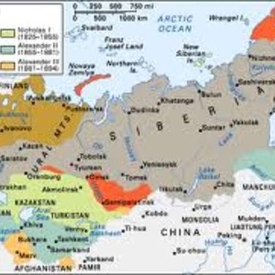 Russian History timeline