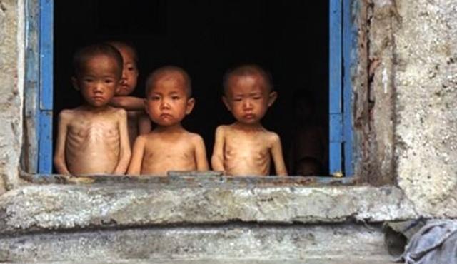 North Korea famine