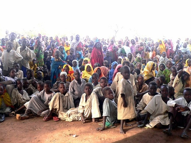Chid famine in Africa