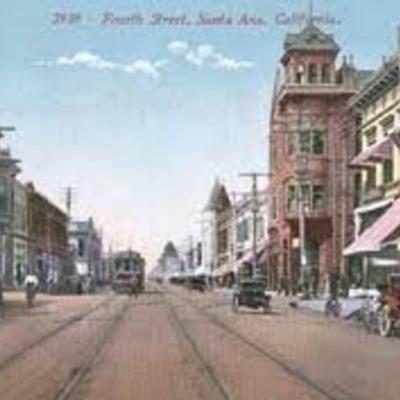 The History of Santa Ana, California timeline