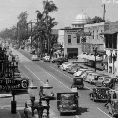 The History of Santa Anna California timeline
