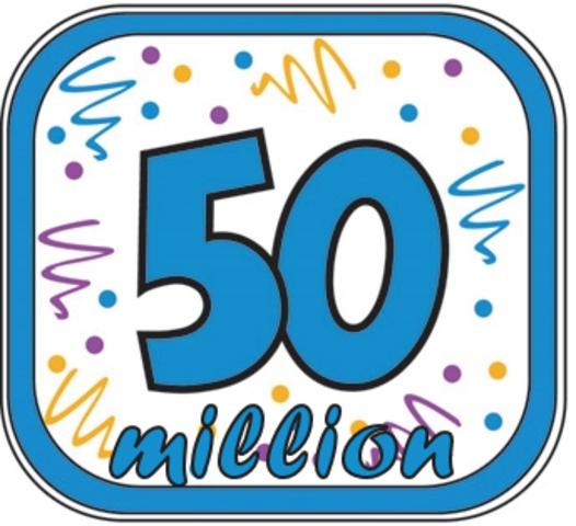50 million blogs!