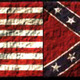 Union and rebel flag