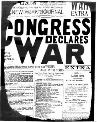Spanish-American War timeline | Timetoast timelines